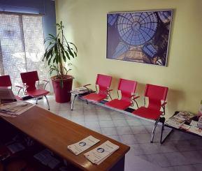 reception e sala d'attesa